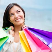 A shopaholic overshopping and getting into debt and bankruptcy Melbourne Australia